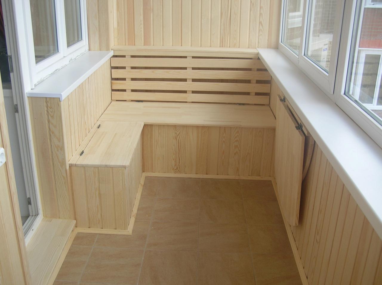 Как обшить вагонкой балкон в хрущевке