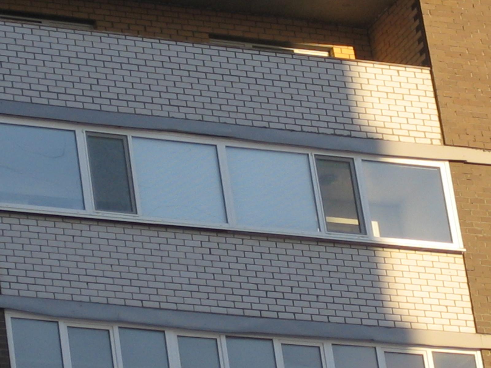 Остекление лоджии 6 метров - балкон-комплекс.